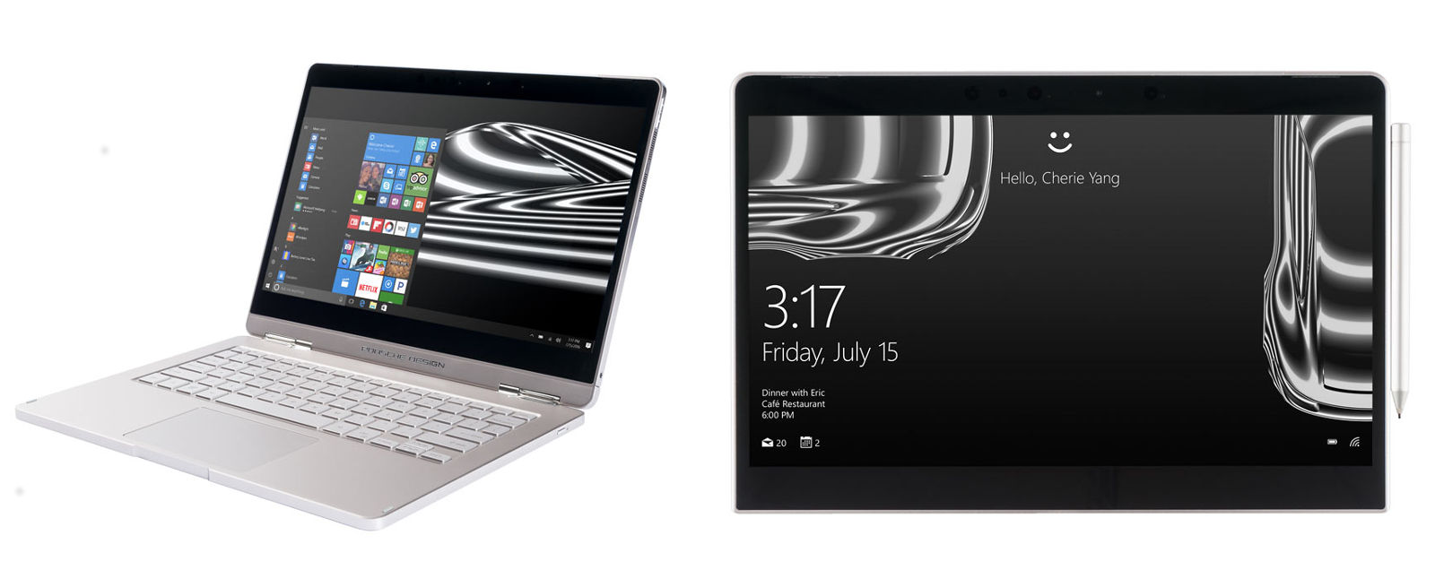 Porsche Design anuncia su propio convertible con Windows