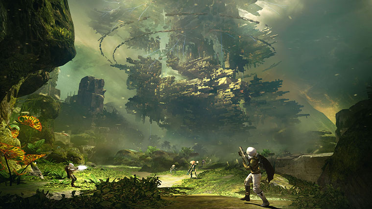 Explore the unfinished House of Wolves DLC area in Destiny!