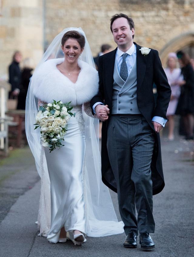 Wedding of Jamie Murray Wells and Lottie Fry