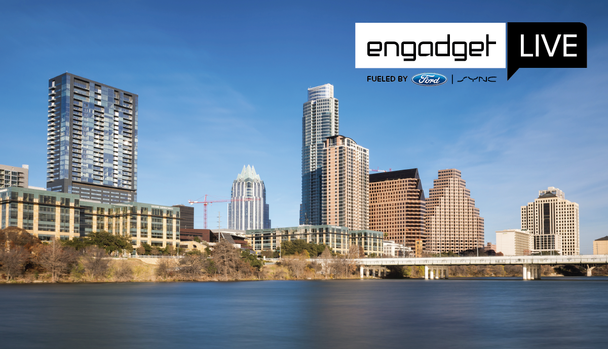 Engadget Live is coming to Austin next Friday!
