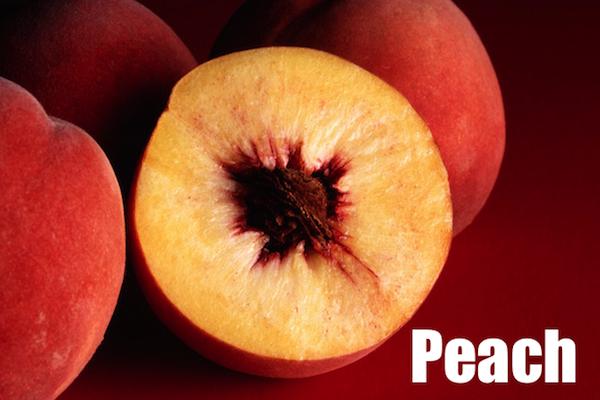 50 words for 50 states. georgia peach