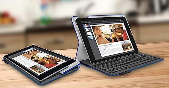 Logitech Type+ Bluetooth Keyboard for iPad Air 2
