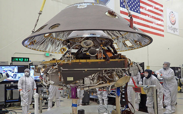 NASA's InSight lander goes through rigorous tests for Mars mission
