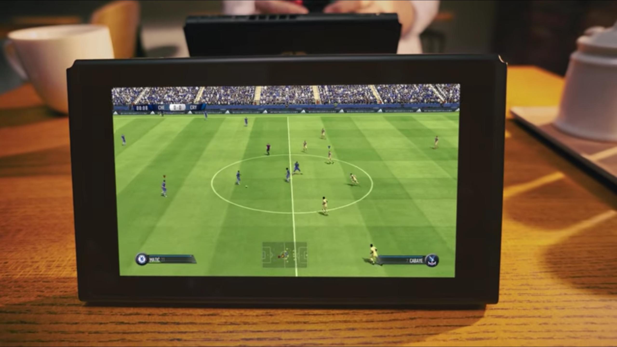 Neuer Nintendo-Spot zeigt erstmals FIFA auf der Switch