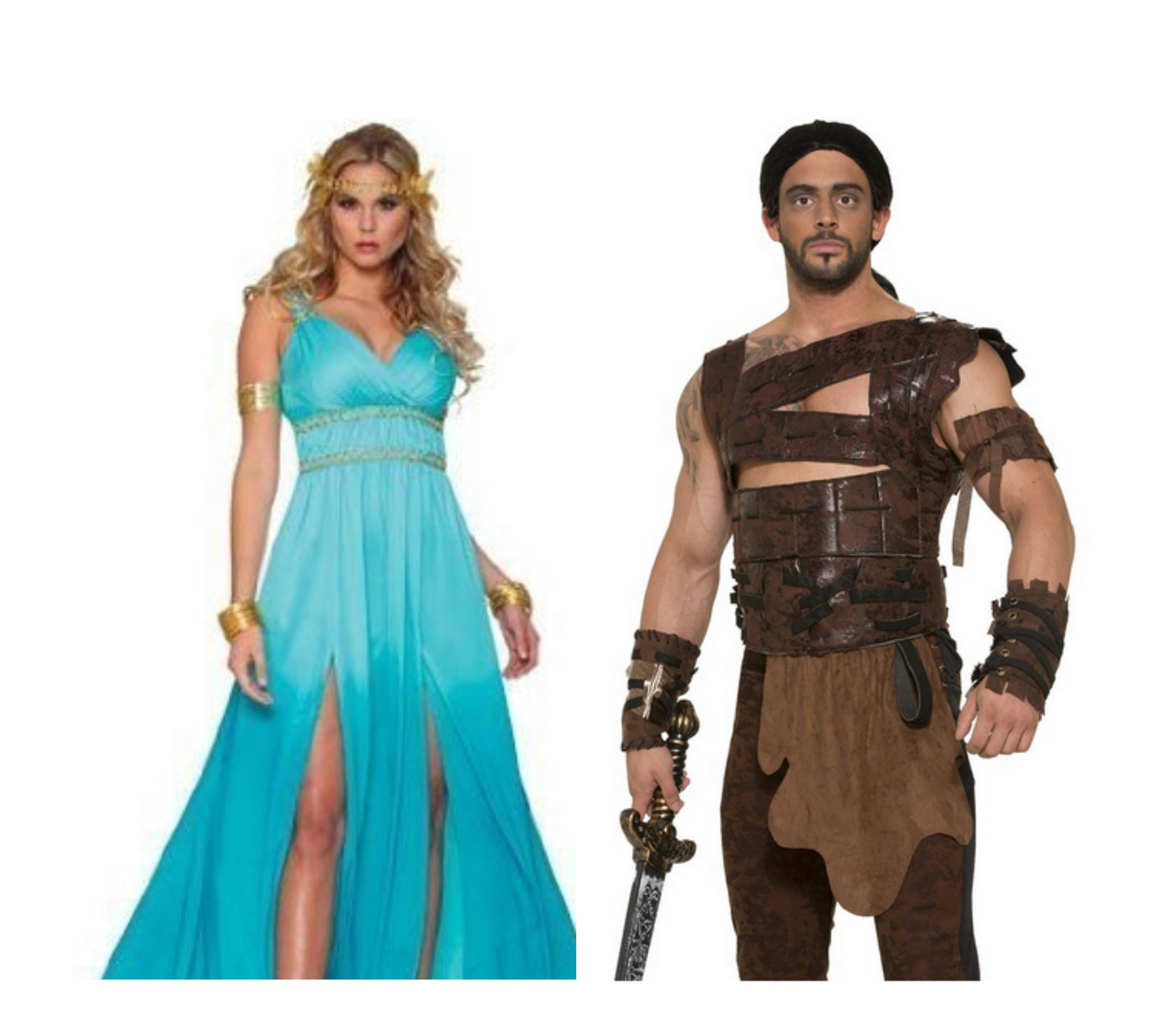 Game Of Thrones Khal Drogo and Khaleesi Costumes