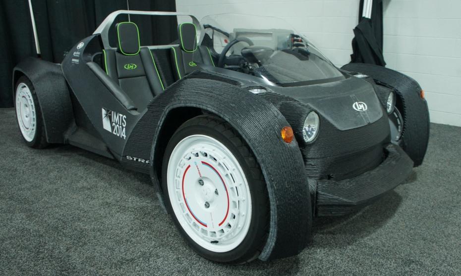 Local motors 39 3d printed car meets the detroit auto show for Local motors 3d printed car
