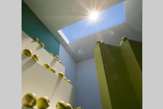 Lichtsystem CoeLux simuliert Tageslicht, Sonnenschein inklusive