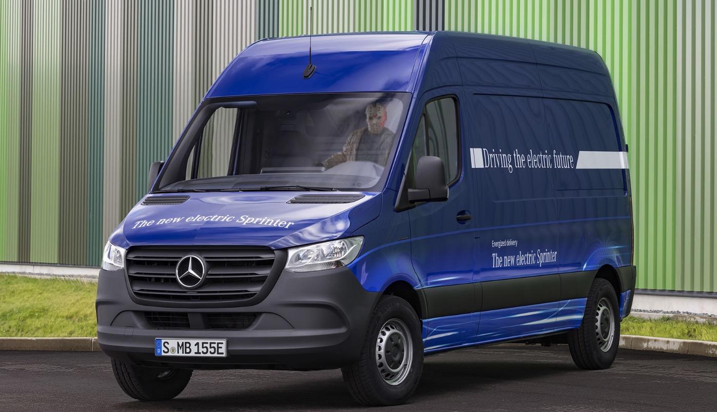 Mercedes eSprinter: Elektro-Lieferwagen für den Stadtverkehr