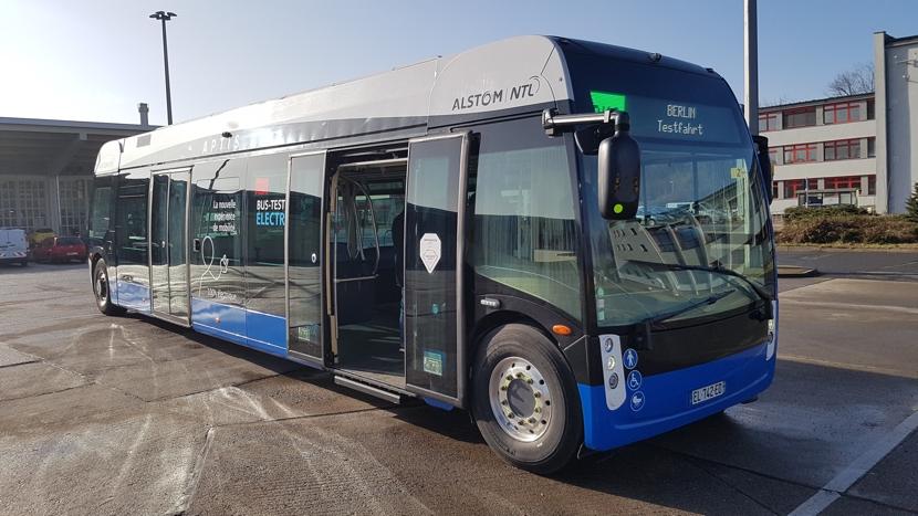In Berlin ist schon wieder ein neuer E-Bus unterwegs
