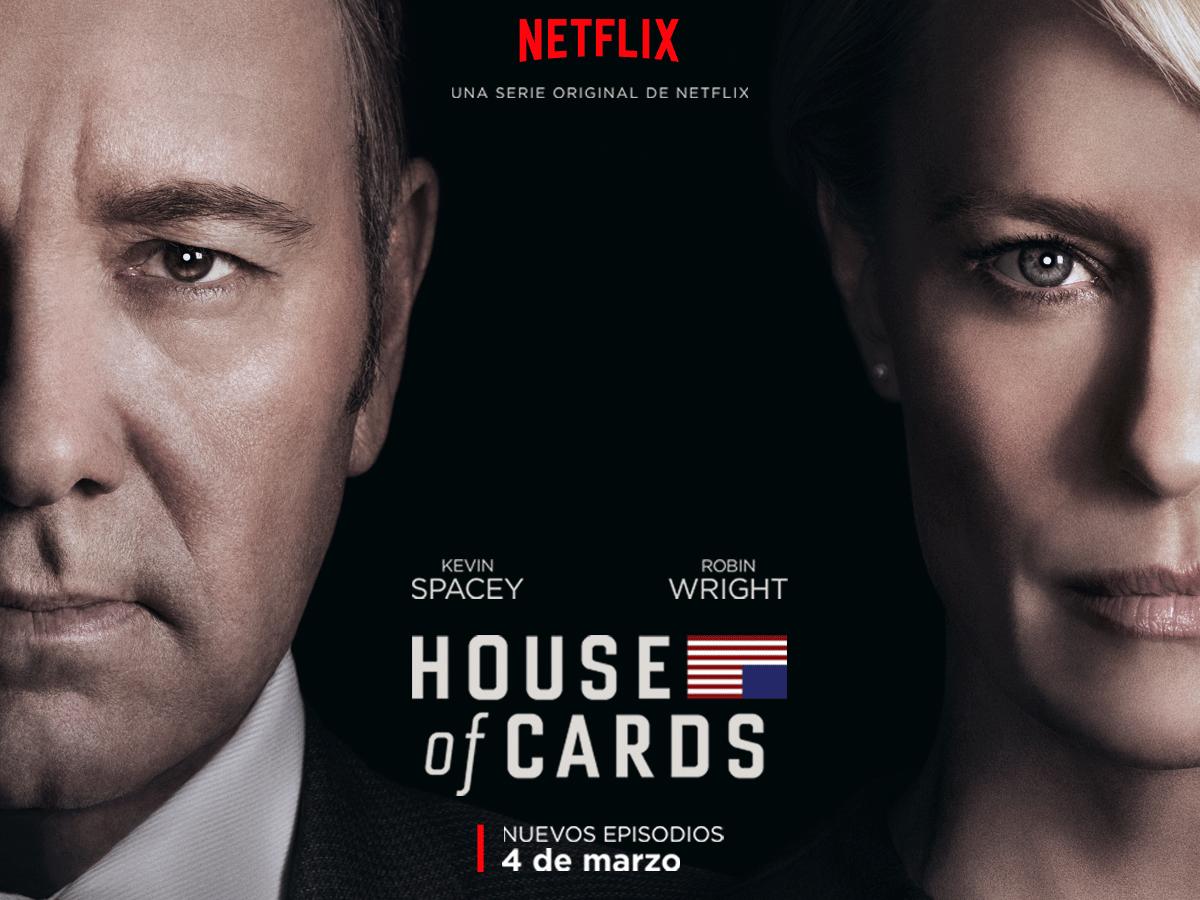 El nuevo tráiler de 'House of Cards' te pondrá de los nervios