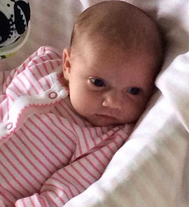 Katie Price finally shares photos of baby Bunny