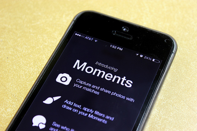 Tinder takes a hint from Snapchat with self-destructing photo feature Moments