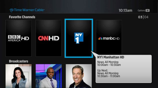Time Warner Cable tests the 'evolution' of streaming TV in NYC