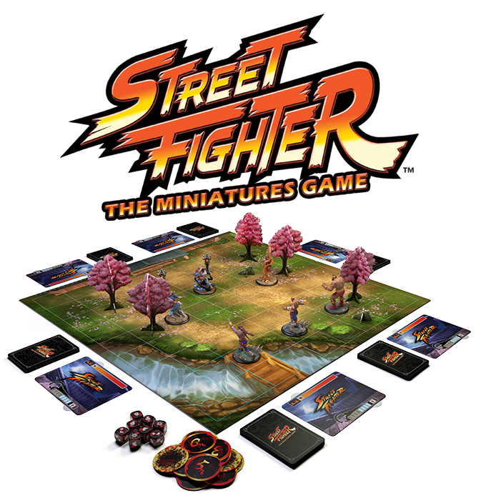Hype-Brettspiel: Street Fighter – The Miniatures Game