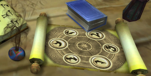 Scrolls of glyphs