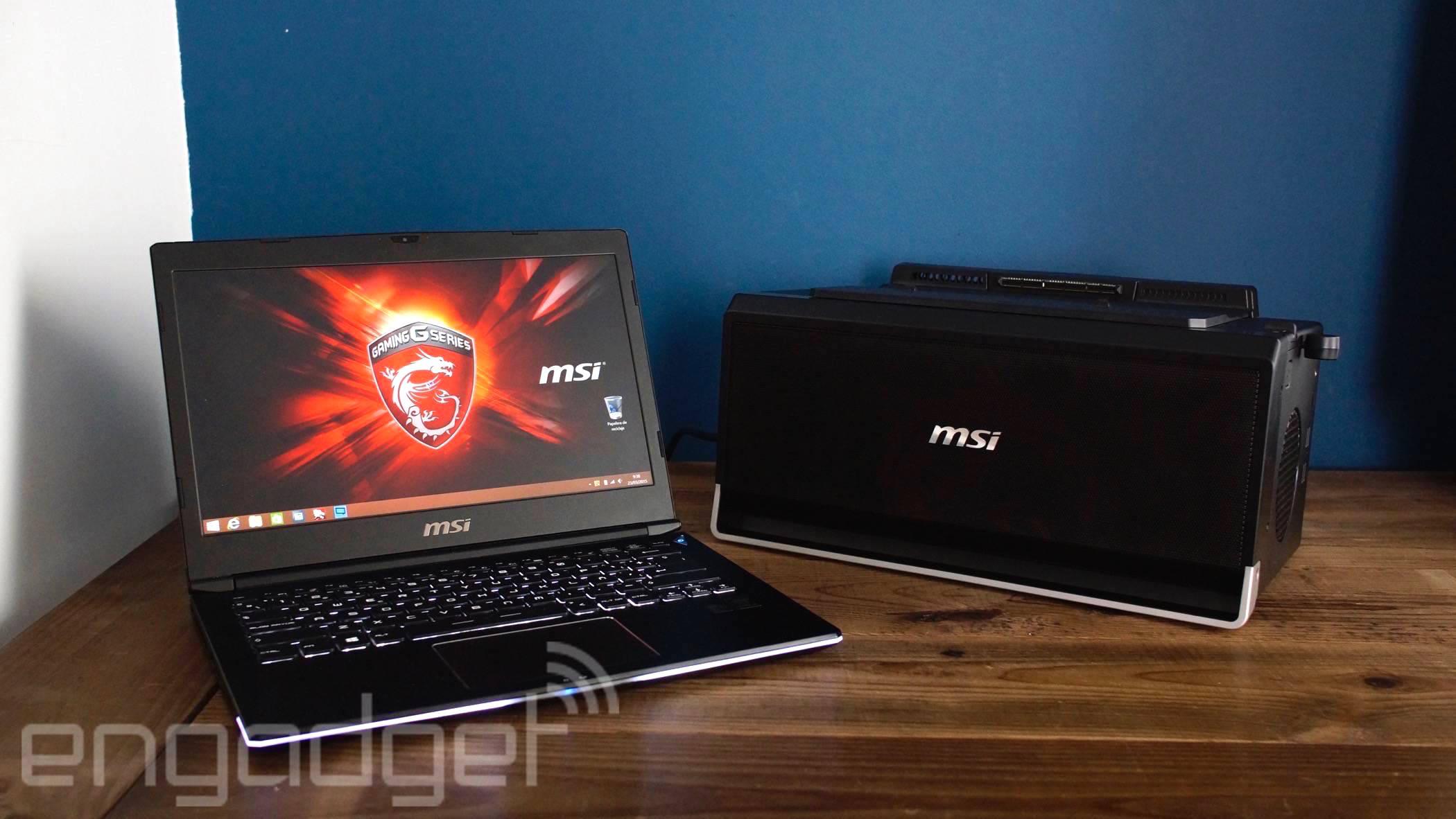 MSI GS30 Shadow: El portátil que quería ser sobremesa
