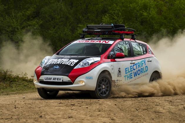 【ビデオ】日産「リーフ」が電気自動車で初めて、約1万6,100kmの難路を走破する「モンゴル・ラリー」に参戦