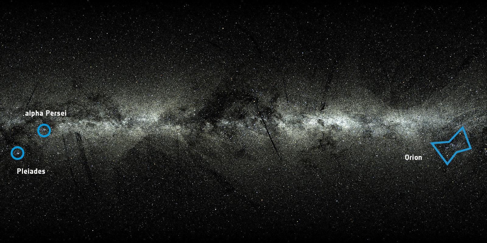 Astronomie: ESA zeigt Video mit zwei Millionen Sternen und ihren Bewegungen