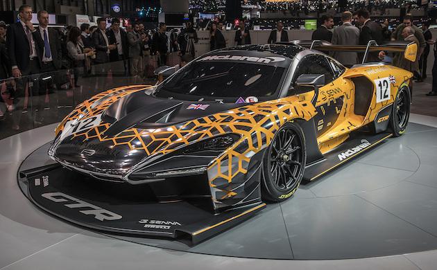 Geneva:                     【ジュネーブモーターショー2018】F1マシンを除けばサーキットで最速のマクラーレン! 「セナ GTR」は75台限定生産で約1億5,000万円