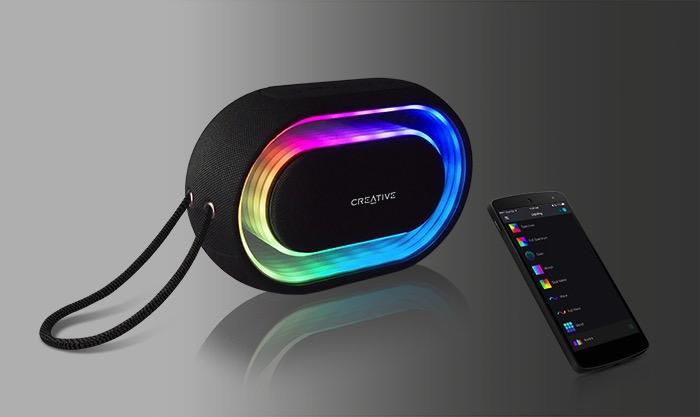 Creative Halo: Mehr Diskolicht im Bluetooth-Lautsprecher