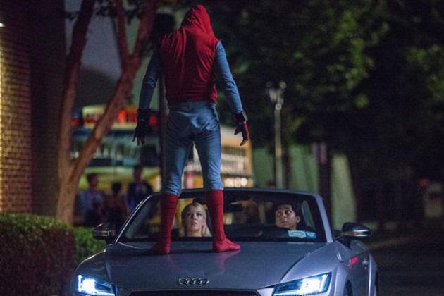 アウディの新型「A8」、正式発表より前に映画『スパイダーマン:ホームカミング』に登場!