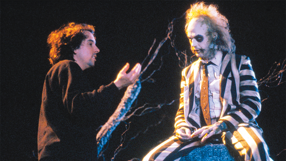 No Merchandising. Editorial Use Only. No Book Cover Usage.<br /> Mandatory Credit: Photo by Moviestore/REX/Shutterstock (1547787a)<br /> Beetlejuice (On Set)<br /> Film and Television<br /><br />
