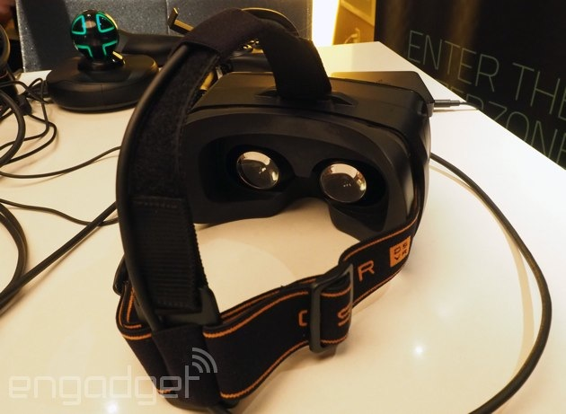 Razer is making an open source virtual reality headset and it's launching this year