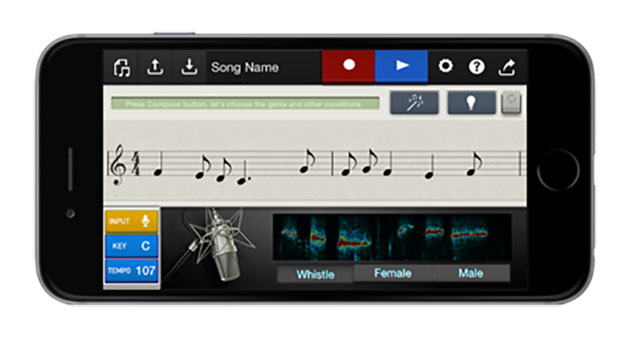 Casio's new iOS app turns your whistling into full-length tunes
