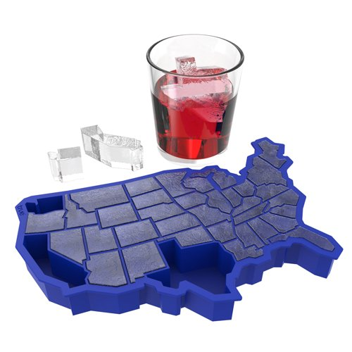 TrueZoo U Ice of A Cube Tray, Blue