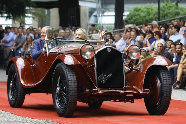 1932年式アルファ ロメオ「8C 2300スパイダー」が、ヴィラ・デステでベスト・オブ・ショーに輝く
