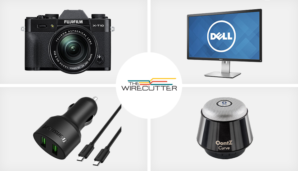 Wirecutter's best deals: Fujifilm's X-T10 mirrorless camera, and more
