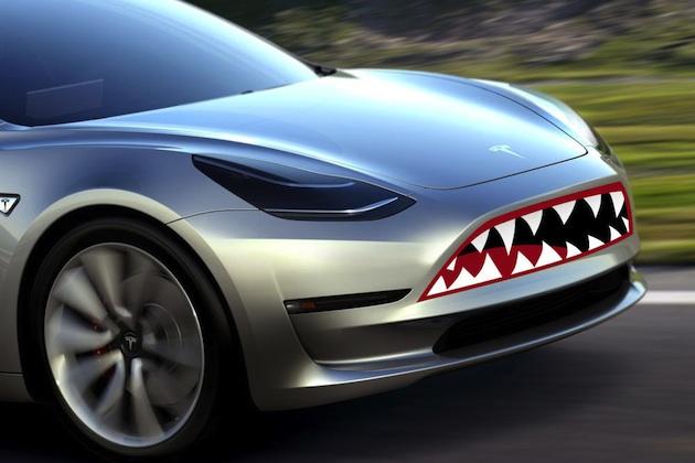 Tesla Motors Club >> ファンたちがテスラ「モデル3」の理想的なフロント・デザインを画像編集ソフトで創作 - Autoblog 日本版