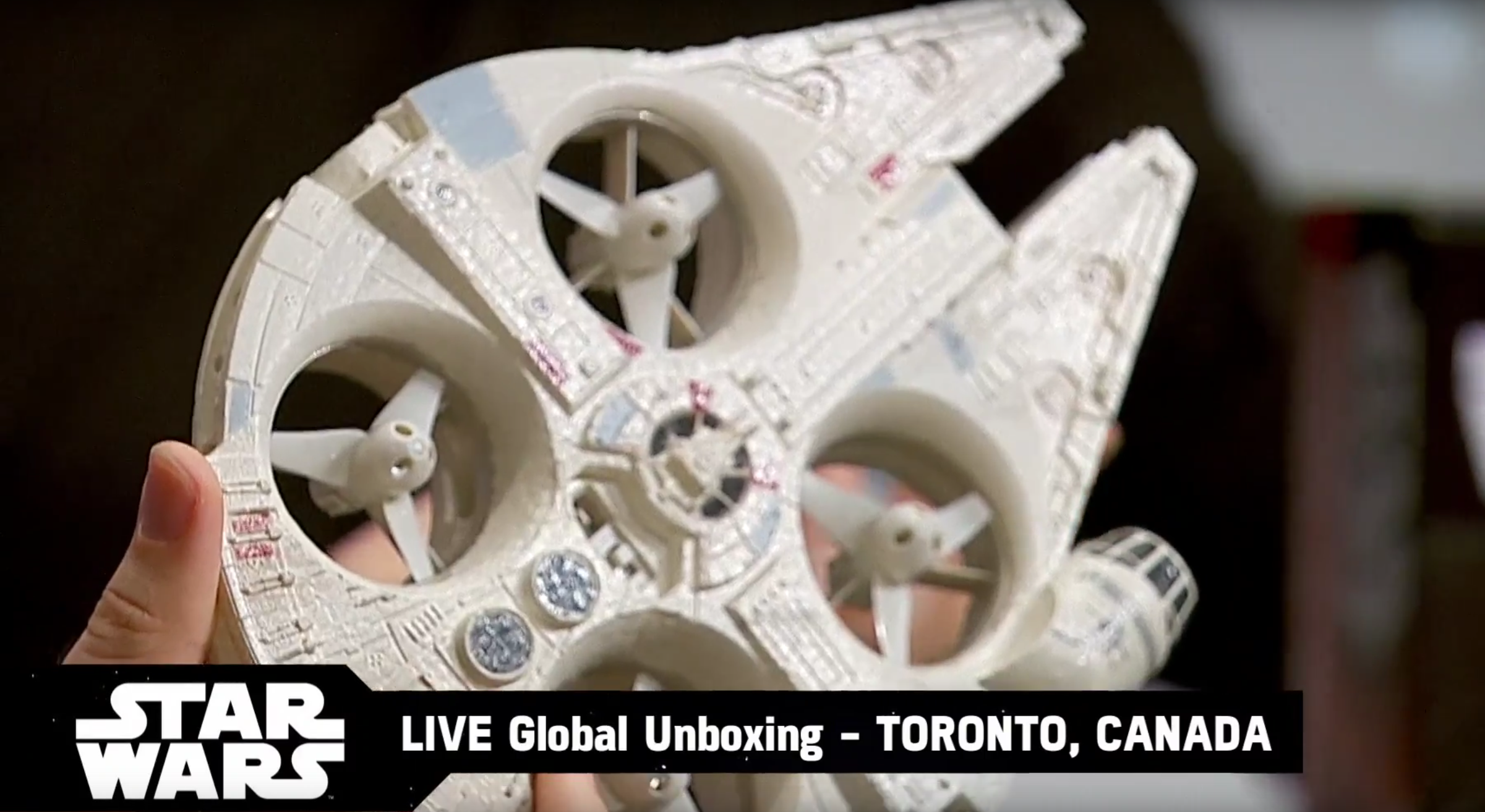 Disney is selling a Millennium Falcon drone starting tomorrow