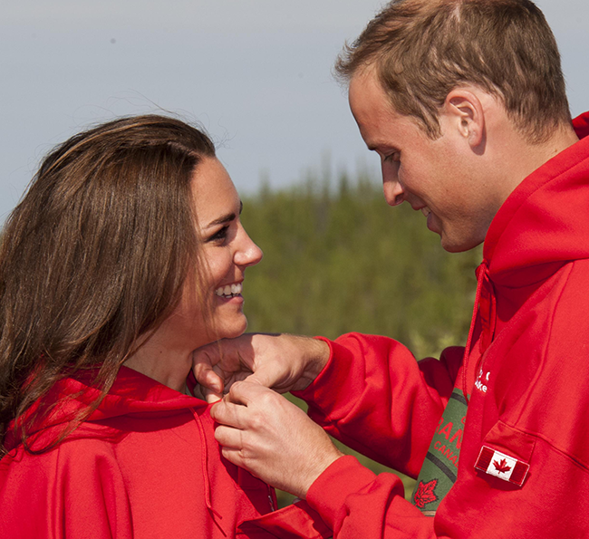 The cutest pictures of Prince William and Kate Middleton
