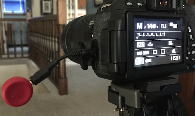 Pico time lapse accessory for DSLR