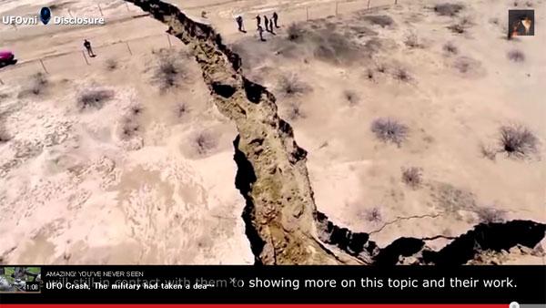 メキシコの地割れに住民らが不安の声 「天変地異の前触れでは?」