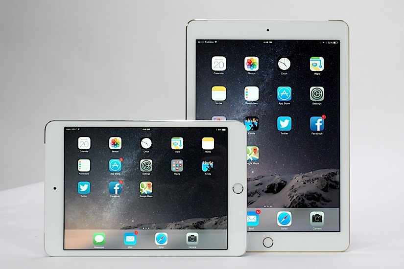 The iPad Air 2 and iPad mini 3 review