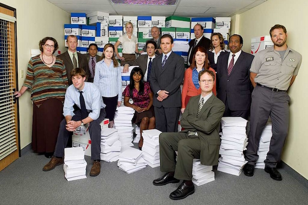greatest fictional companies on television, dunder mifflin the office