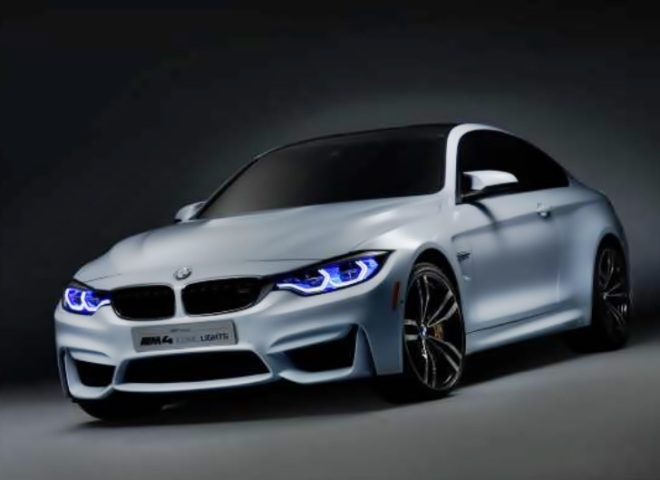 CES, Lasertechnologie,  BMW M4 Concept Iconic Lights, Laser Light, Laser Licht, BMW laser light,