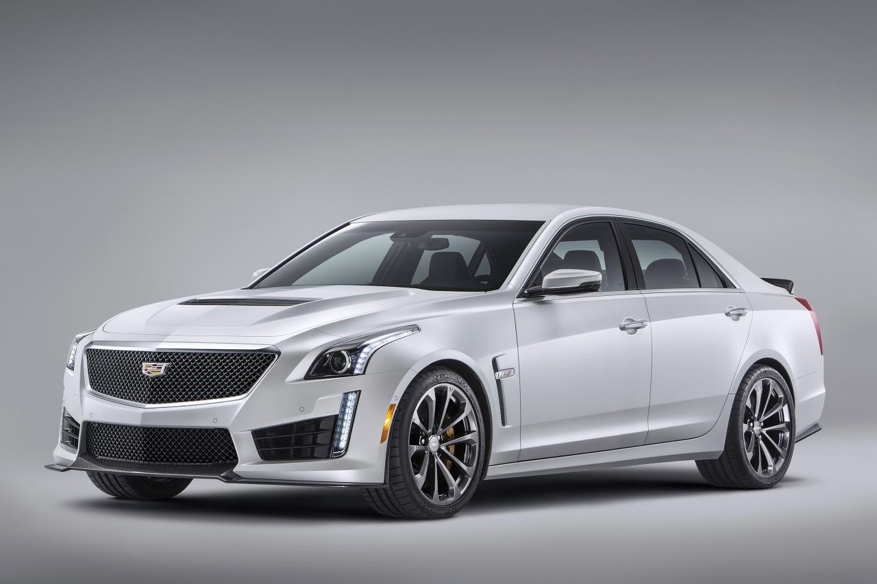 Starkes Debüt in Detroit: Cadillac CTS-V 2016
