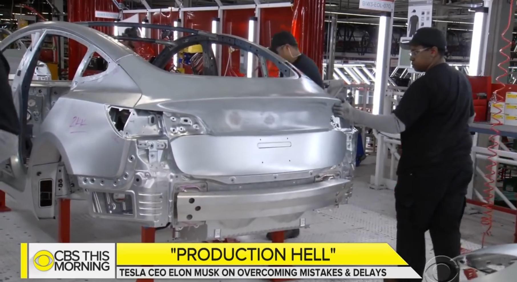 Elon Musk: Zu viele Roboter Schuld am Model-3-Produktions-Debakel