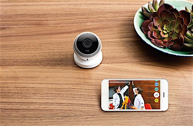 logi circle ist logitechs erste berwachungskamera f r. Black Bedroom Furniture Sets. Home Design Ideas