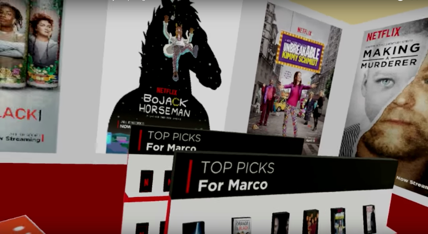 Netflix comes full circle, creates virtual video store