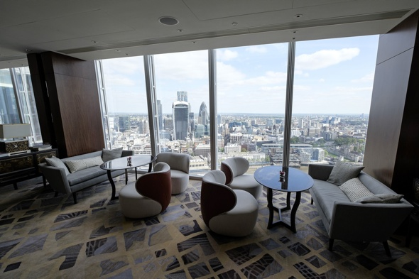 London Shard hotel: shangri-la-hotel-the-shard