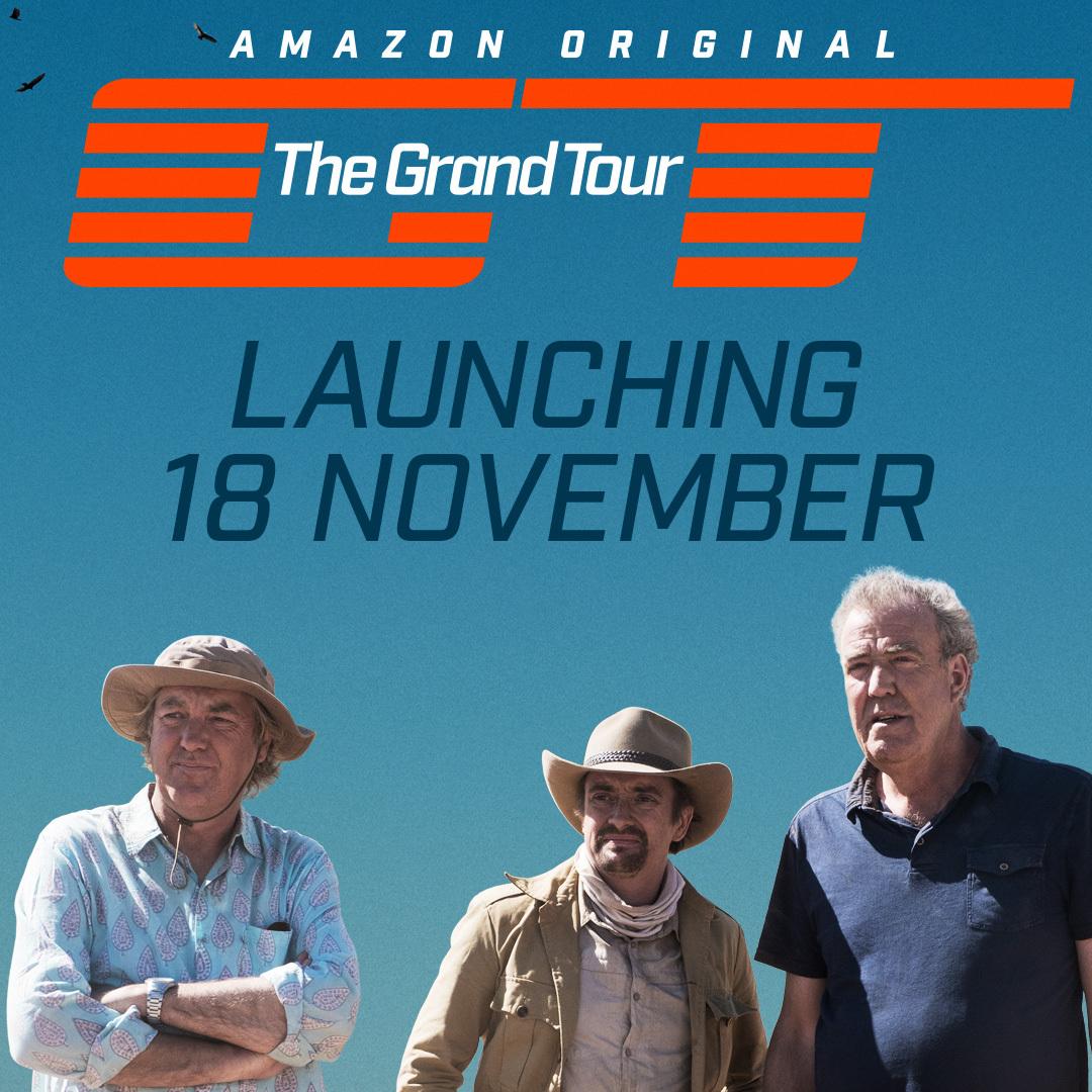The Grand Tour premieres on Amazon November 18th