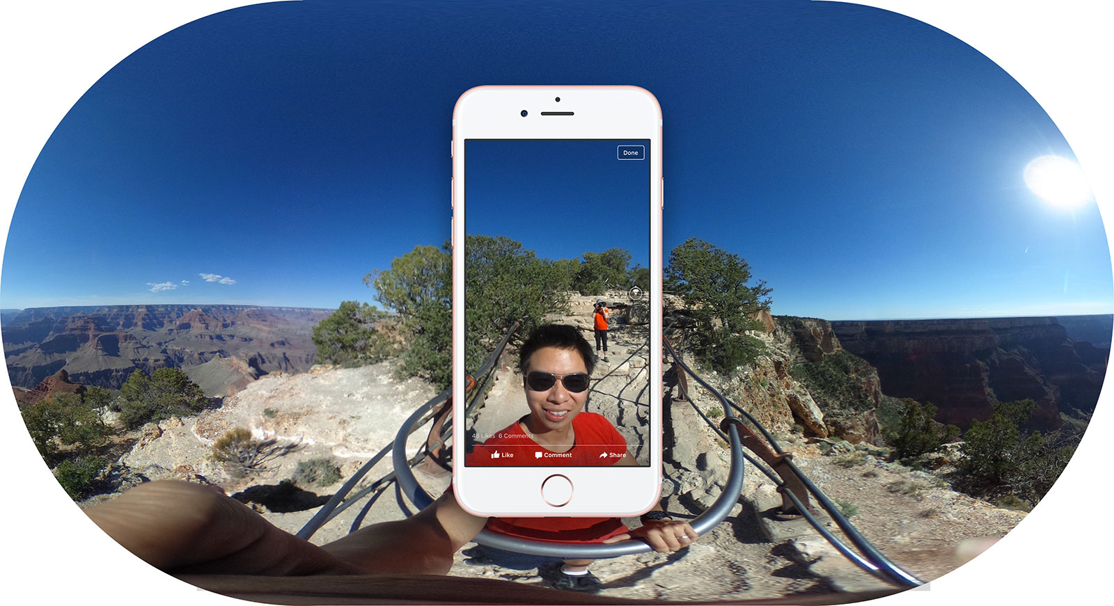 Facebook's 360-degree photos invade your News Feed tomorrow