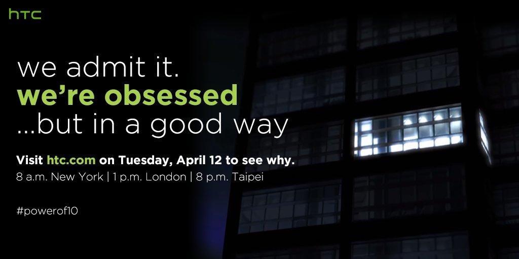 HTC nos cita para un evento online el 12 de abril