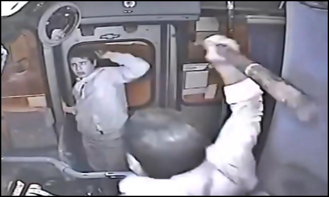 Dieb, Diebstahl, raub, car crime, kriminell, video, autodieb, verbrecher, straßenkriminalität Busfahrer,