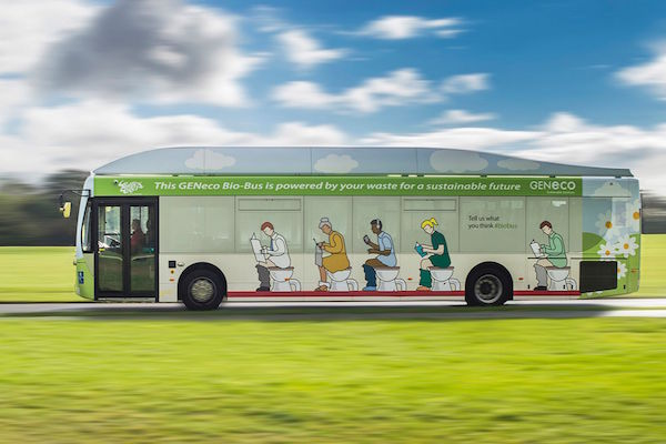Vidéo - Bio-Bus, le bus anglais qui roule au caca