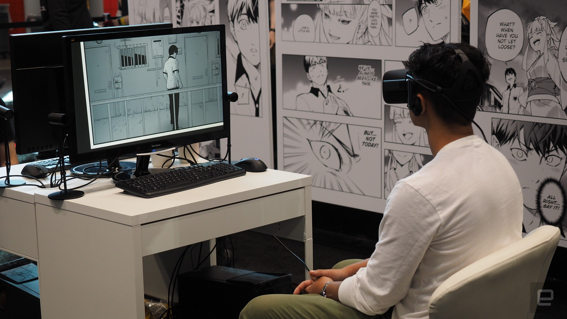 photo image Square Enix's Project Hikari makes a good case for VR comics